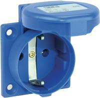 Opbouw-contactdoos IP44 Blauw PCE 105-0bw