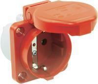 Opbouw-contactdoos IP44 Rood PCE 105-0rw