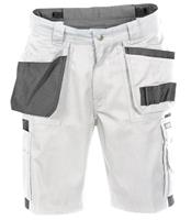 shorts monza wit-grijs 42