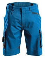 short cosmic azuurblauw-grijs 42