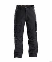 Dassy broek connor zwart-grijs 44
