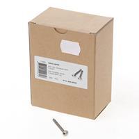 Dulimex anti-inbraak toerschroeven 4,0 x 40 mm RVS 1124204040