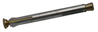 Qz Kozijnplug metaal verzinkt 10 x 90mm