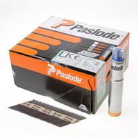 Paslode stripspijker glad blank 2.8 x 75mm inclusief gas IM90 doos met 2500 spijkers