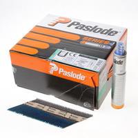Paslode stripspijker glad blank 3.1 x 90mm inclusief gas IM90 doos met 2500 spijkers