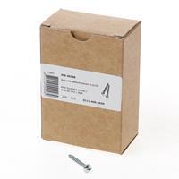 Dulimex AIS 4030B Anti-inbraakschroef 4.0 x 30mm staal verzinkt 0112.400.4030