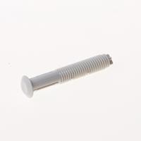 Borgh Sprintplug wit kunststof 6 x 40mm