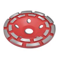 VidaXL Schuurschijf met diamantkop 125 mm