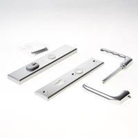 Hoppe Kruk/kruk schild, aluminium 113/2236ZA/2234 PC72 kerntrek