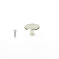 Hermeta Meubelknop rond, aluminium 3751-02 30mm 1xm4