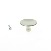 Hermeta Meubelknop rond, aluminium 3753-02 40mm 1xm4