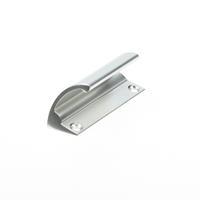 Hermeta Ladegreep 70mm opschroefbaar 4087-01 zilver