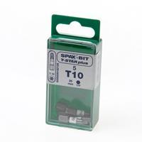 Spax Bit TX10 wit blister van 5 bits