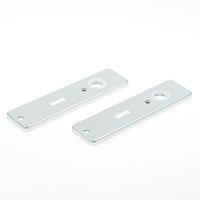 Hoppe Kortschild, aluminium202kp sl56 zilver