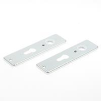 Hoppe Kortschild, aluminium 202kp pc 55 zilver