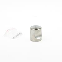 Oxloc Knop rond roestvaststaal 25mm