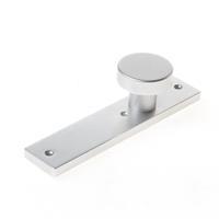 Nemef Knopkortschild blind aluminium 3251 F1 Din links en rechts