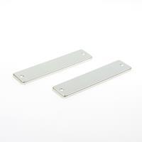 Ami Kortschild, aluminium, F2 Geheel Blind 165/4rh