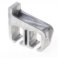 Henderson Raildrager,aluminium voor wandmontage, dubbel open model, 5A/290