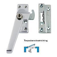 Axa Raamsluiting met nok cilindersluiting links opbouw F1 3319-61-91/6