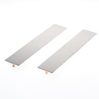P & E Langschild geheel blind 240 x 45mm 7141/000/130