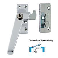 Axa Raamsluiting met nok cilindersluiting links inbouw F1 3319-41-91/6