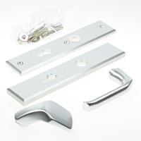 Hoppe Kruk/knop schild, aluminium 61G/2235/2234/113, PC 72, F1
