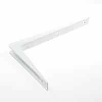 Dulimex ES 3302B Drager aluminium 200 x 300mm wit gelakt 0513.210.3302