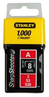 Stanley nieten type A (3/53/530) 8 mm 1000 stuks