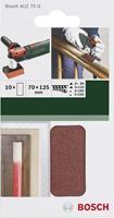 Bosch Prof Schuurpapier voor AUZ 70g 10st