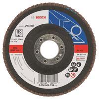 Bosch 2608606754 Lamellenschuurschijf Best for Metal - K80 - 115mm - Vlak