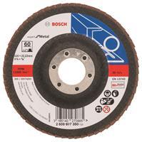 Bosch 2608607350 Lamellenschuurschijf Best for Metal - K60 - 115mm - Vlak