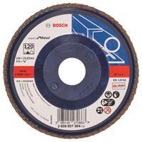 Bosch 2608607364 Lamellenschuurschijf Best for Metal - K120 - 115mm - Vlak