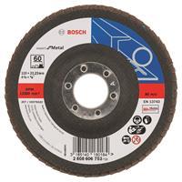 Bosch 2608606753 Lamellenschuurschijf Best for Metal - K60 - 115mm - Vlak