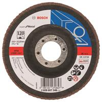 Bosch 2608607346 Lamellenschuurschijf Best for Metal - K120 - 115mm - Vlak