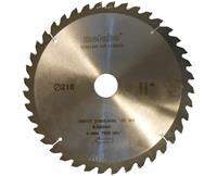 metabo Precision cut cirkelzaagblad hw/ct 216x30, 40 tanden