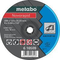 Metabo 616505000 Doorslijpschijf - 115 x 1 x 22,23mm - Staal