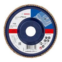 Bosch 2608601273 Lamellenschuurschijf X431 Standard for Metal - K120 - 115mm - Recht