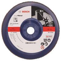 Bosch 2608607343 Lamellenschuurschijf X571 Best for Metal - K60 - 180mm - Recht