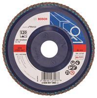 Bosch 2608607368 Lamellenschuurschijf Best for Metal - K120 - 125mm - Vlak