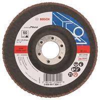 Bosch 2608607354 Lamellenschuurschijf Best for Metal - K60 - 125mm - Vlak