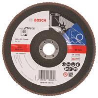 Bosch 2608606738 Lamellenschuurschijf Best for Metal - K60 - 180mm - Vlak
