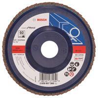 Bosch 2608607366 Lamellenschuurschijf Best for Metal - K60 - 125mm - Vlak