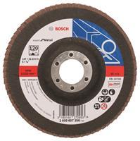 Bosch 2608607356 Lamellenschuurschijf Best for Metal - K120 - 125mm - Vlak
