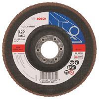 Bosch 2608607347 Lamellenschuurschijf Best for Metal - K120 - 125mm - Vlak