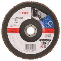 Bosch 2608606737 Lamellenschuurschijf Best for Metal - K40 - 180mm - Vlak