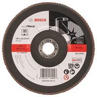 Bosch 2608606739 Lamellenschuurschijf Best for Metal - K80 - 180mm - Vlak