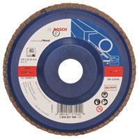 Bosch 2608607365 Lamellenschuurschijf Best for Metal - K40 - 125mm - Recht