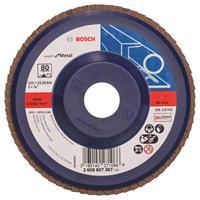 Bosch 2608607367 Lamellenschuurschijf Best for Metal - K80 - 125mm - Vlak