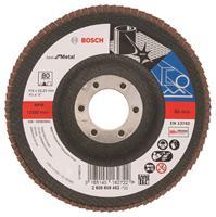 Bosch 2608605452 Lamellenschuurschijf Best for Metal - K80 - 115mm - Vlak